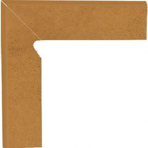Cokół dwuelementowy schodowy Paradyż Aquarius Brown lewy 30x8,1x1,1