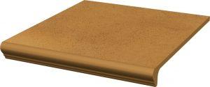 Stopnica z kapinosem prosta Paradyż Aquarius Brown 30x33x1,1