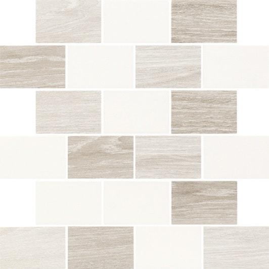 Mozaika ścienna Paradyż Elia Bianco cięta mix 29,8x29,8cm Mat