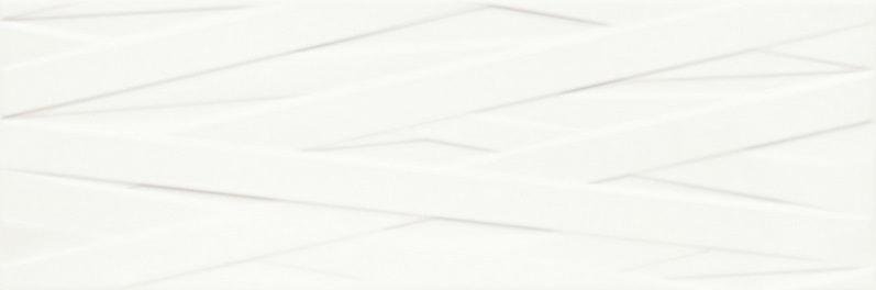 Płytka ścienna Paradyż Elia Bianco struktura B 25x75cm Mat