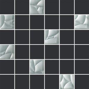 Mozaika ścienna Paradyż Esten Silver/Grafit29,8x29,8cm
