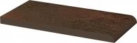 Płytka parapetowa gładka Paradyż Semir Brown 20x10x1,1