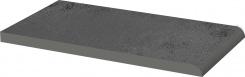 Płytka parapetowa gładka Paradyż Semir Grafit 24,5x13,5x1,1
