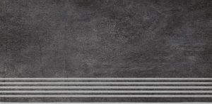 Stopnica podłogowa Paradyż Taranto Grafit 59,8x29,8