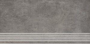 Stopnica podłogowa Paradyż Taranto Grys 59,8x29,8