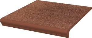Stopnica z kapinosem prosta Paradyż Taurus Brown 30x33x1,1