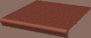 Stopnica prosta Paradyż 300x330x11 z kapinosem strukturalna Natural Rosa Duro