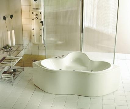 Zdjęcie Wanna narożna symetryczna Pool-Spa Persja 150x150cm PWSH6..ZN000000