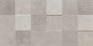Dekor ścienny Tubądzin Blinds grey STR 1 29,8x59,8cm DS-01-174-0298-0598-1-009