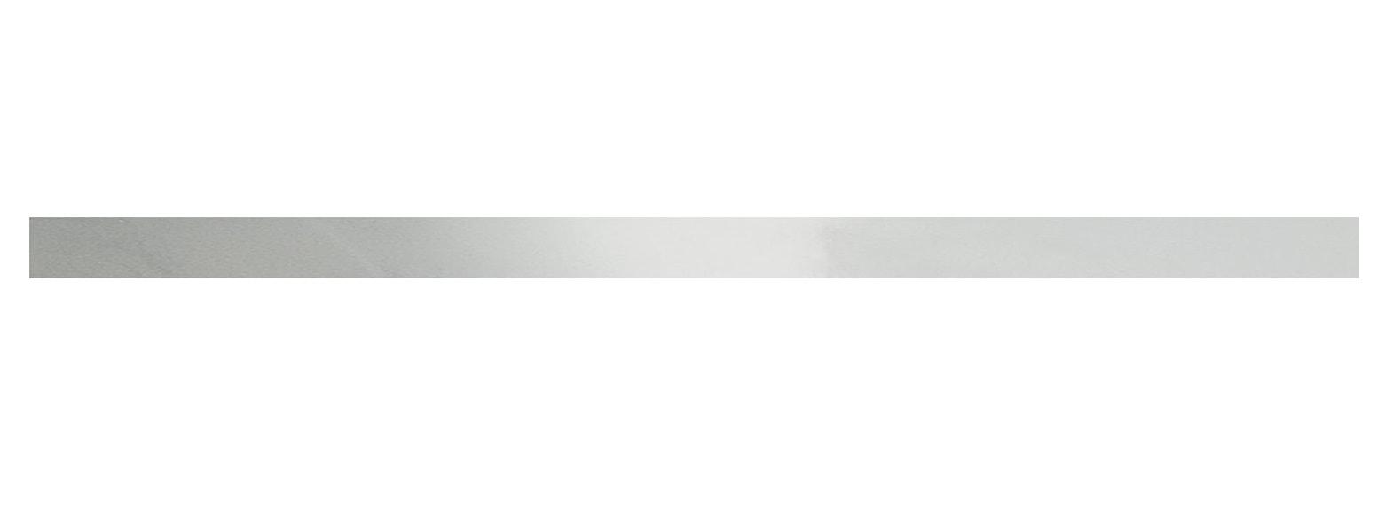 Listwa ścienna Tubądzin Steel 21 POL 119,8x5,5 cm tubSte21Pol1198x55
