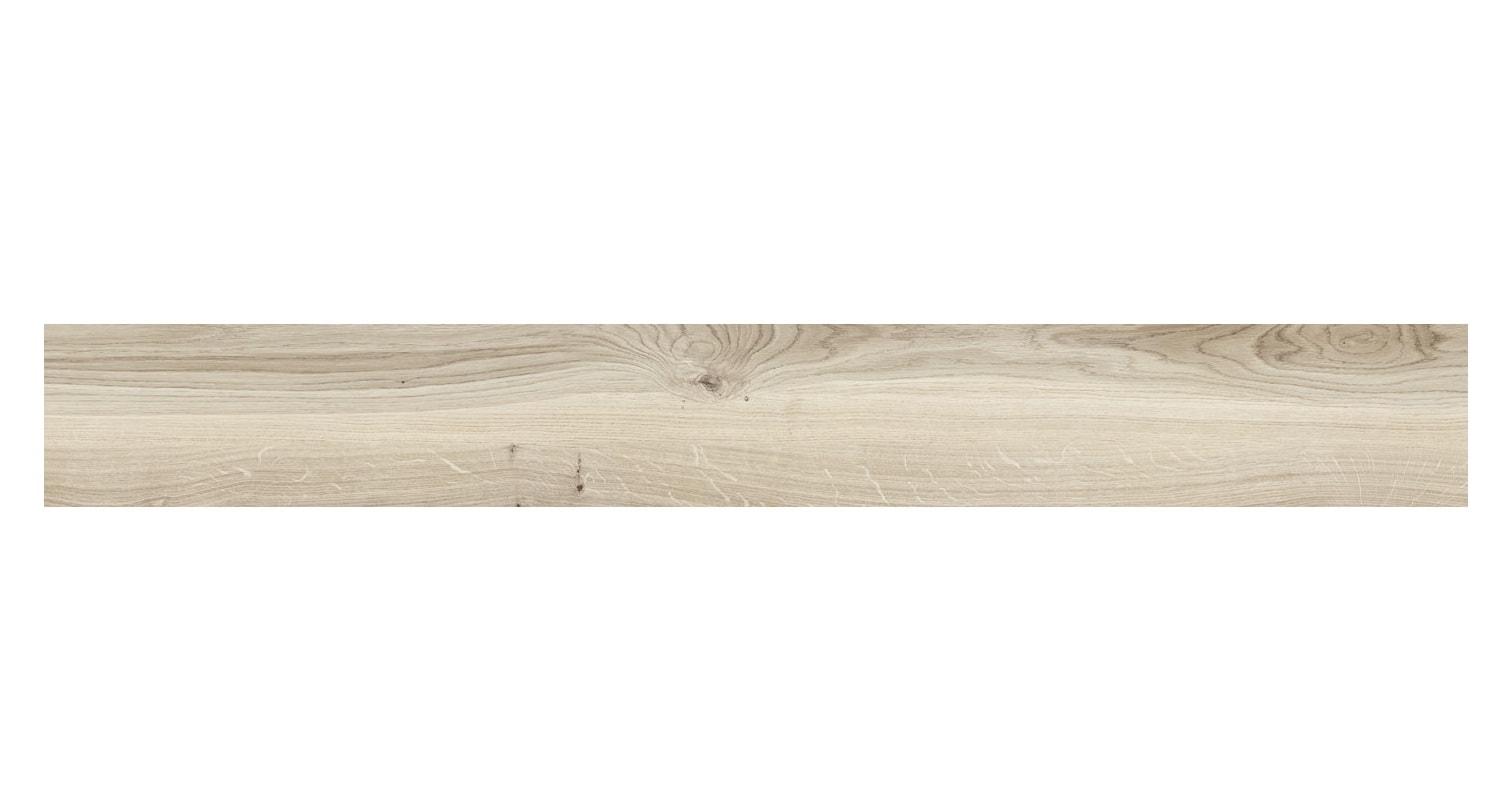Płytka podłogowa Tubądzin Korzilius Wood Block Beige STR 119,8x19cm tubWooBloBeiStr120x19