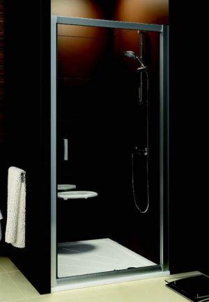 Drzwi prysznicowe Ravak Blix BLDP2-110 białe Grape 0PVD0100ZG