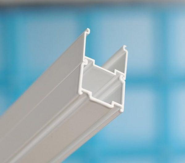Zdjęcie Drzwi prysznicowe Ravak Blix BLDP2-110 białe Transparent 0PVD0100Z1