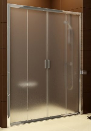 Drzwi prysznicowe Ravak Blix BLDP4-120 białe Transparent 0YVG0100Z1
