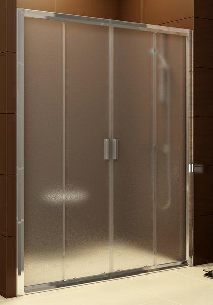 Drzwi prysznicowe Ravak Blix BLDP4-140 białe Grape 0YVM0100ZG