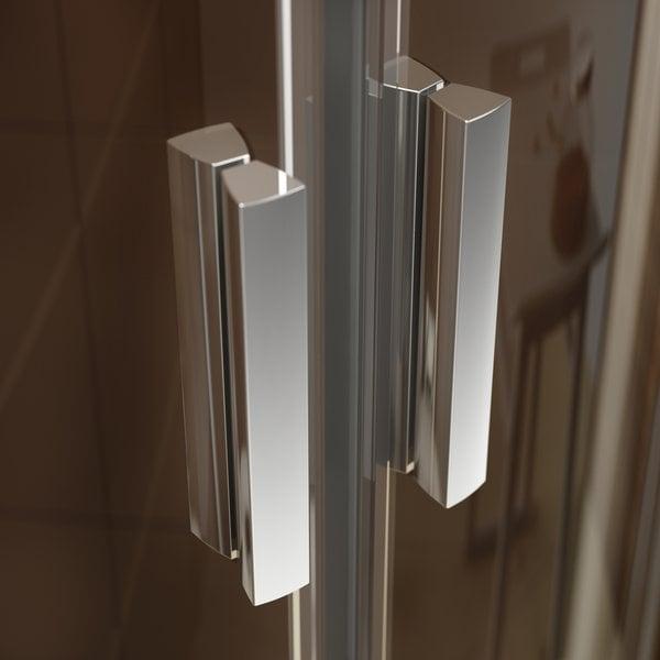 Zdjęcie Kabina prysznicowa Ravak Blix BLRV2K-90 chrom połysk Grape 2x1XV70C00ZG