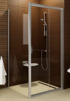 Ścianka prysznicowa Ravak Blix BLPS-80 chrom połysk Grape 9BH40C00ZG