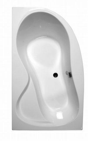 Wanna narożna asymetryczna Ravak Rosa 95 Lewa 150x95cm C551000000