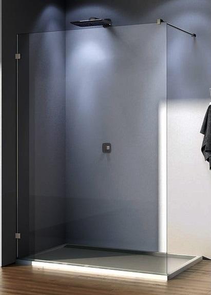Ścianka wolnostojąca SanSwiss Ronal WALK-IN PUR bez profilowa lewa PDT4GSM11007 60x200cm