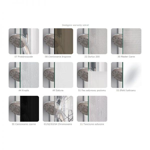 Zdjęcie Ścianka wolnostojąca SanSwiss Ronal WALK-IN PUR bez profilowa lewa PDT4GSM11007 60x200cm