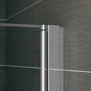 Zdjęcie Kabina składana SanSwiss Ronal Swing-Line F SLF2 80cm mat SLF2D08000107+SLF2G08000107