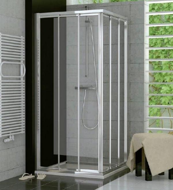 Zdjęcie Drzwi suwane trzyczęściowe SanSwiss Ronal Top-Line 70cm Lewe mat TOE3G07000107