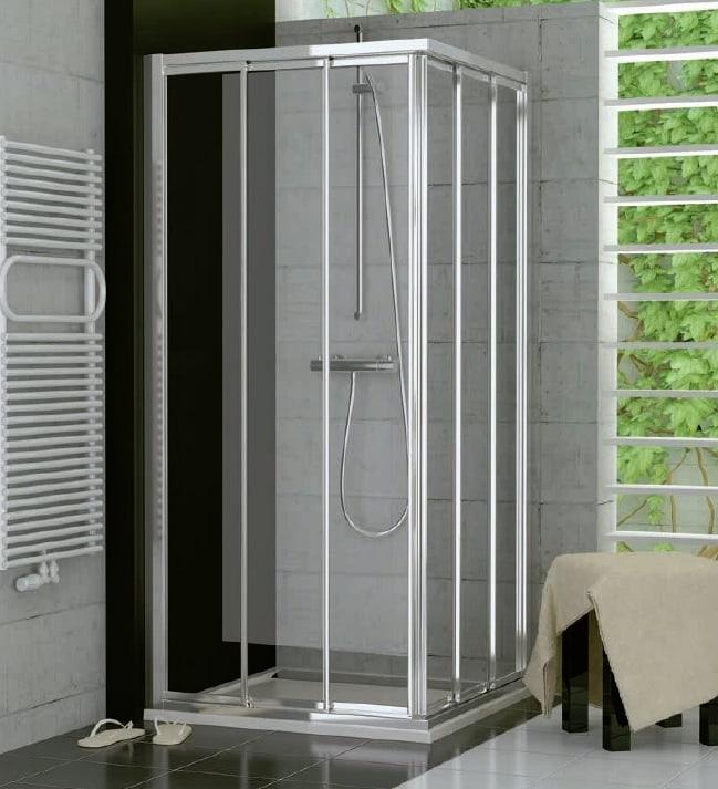 Drzwi suwane trzyczęściowe SanSwiss Ronal Top-Line 70cm Lewe mat TOE3G07000107