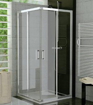 Drzwi suwane SanSwiss Ronal Top-Line 70cm Prawe połysk TOPD07005007