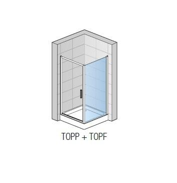 Zdjęcie Ścianka boczna SanSwiss Ronal Top-Line 80cm mat TOPF08000107