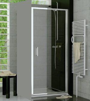 Drzwi jednoczęściowe wahadłowe SanSwiss Ronal Top-Line 75cm połysk TOPP07505007