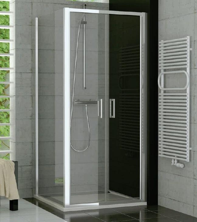 Drzwi dwuczęściowe SanSwiss Ronal Top-Line 80cm połysk TOPP208005007