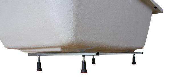Zdjęcie Wanna narożna asymetryczna Sanplast Free Line WAL(P)/FREE 90x160cm Prawa 610-040-0690-01-000