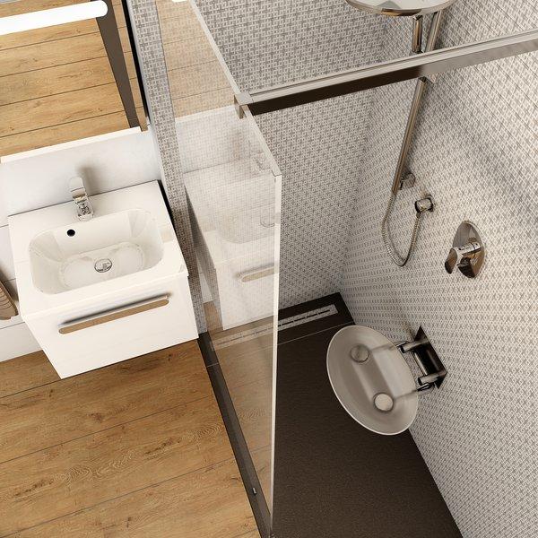 Zdjęcie Siedzisko prysznicowe Ravak Ovo P II clear B8F0000048