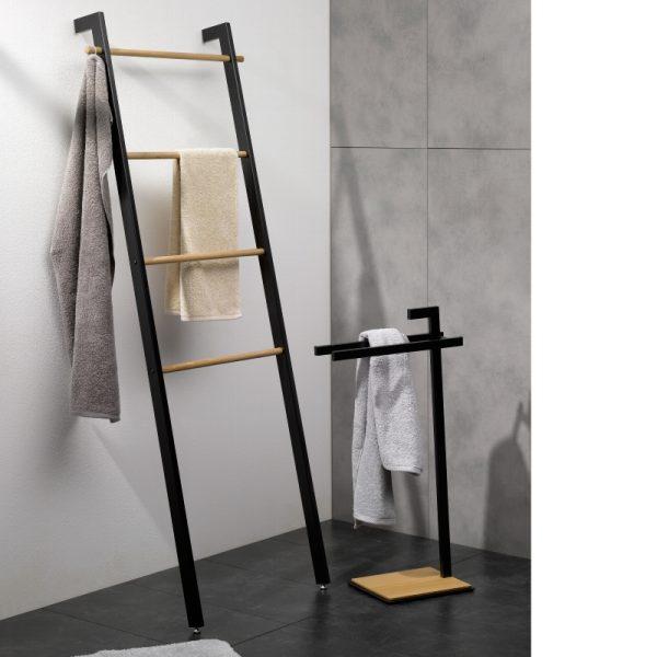 Zdjęcie Wieszak stojący drabinka Kela Oak 56x180cm 24263