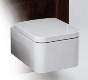 Miska WC wisząca z deską wolnoopadającą Simas Flow FL63+FL28