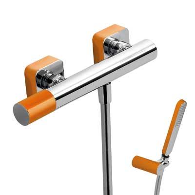 Zestaw natryskowy Tres Loft colors pomarańczowy 20016701NA