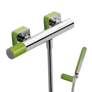Zestaw natryskowy Tres Loft colors zielony 20016701VE