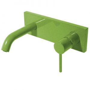 Bateria umywalkowa podtynkowa Tres Study colors zielony 26220050TVE