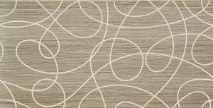 Dekoracja ścienna Tubądzin Biloba modern 30,8x60,8