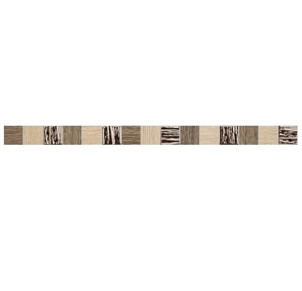 Listwa ścienna Tubądzin Biloba brown 60,8x3,9
