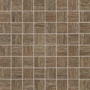 Mozaika ścienna Tubądzin Biloba brown 32,4x32,4