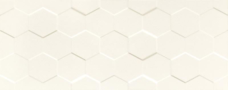 Płytka ścienna Tubądzin Elementary White Hex STR 29,8x74,8cm