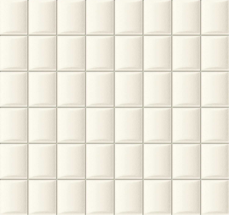 Mozaika ścienna Tubądzin Elementary White 32,1x30cm