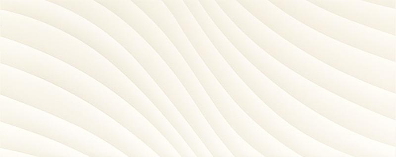 Płytka ścienna Tubądzin Elementary White Wave STR 29,8x74,8cm