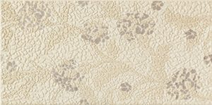 Dekoracja ścienna Tubądzin Lavish beige 22,3x44,8