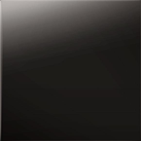 Płytka ścienna Tubądzin Pastel Czarny Połysk 200x200