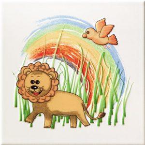 Dekoracja ścienna Tubądzin Pastel Safari 3 200x200