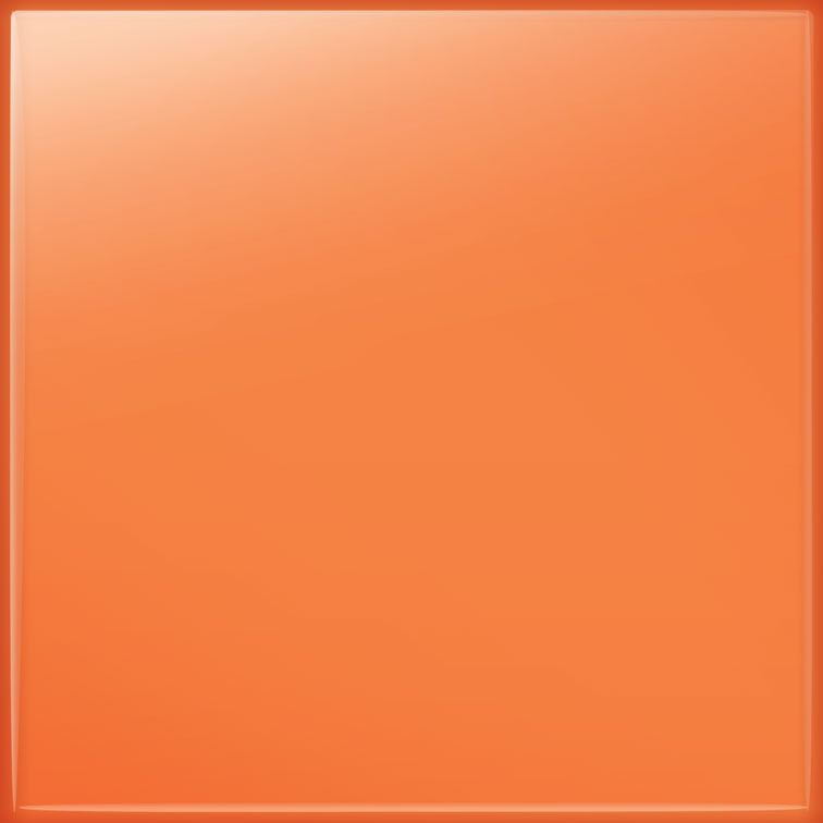 Płytka ścienna Tubądzin Pastel Pomarańczowy Połysk 200x200