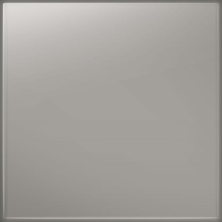 Płytka ścienna Tubądzin Pastel Szary Połysk 200x200