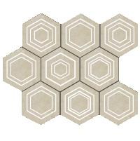 Mozaika ścienna Tubądzin Solei ecru 28,9x22,1 MS-01-169-0289-0221-1-022 (p)